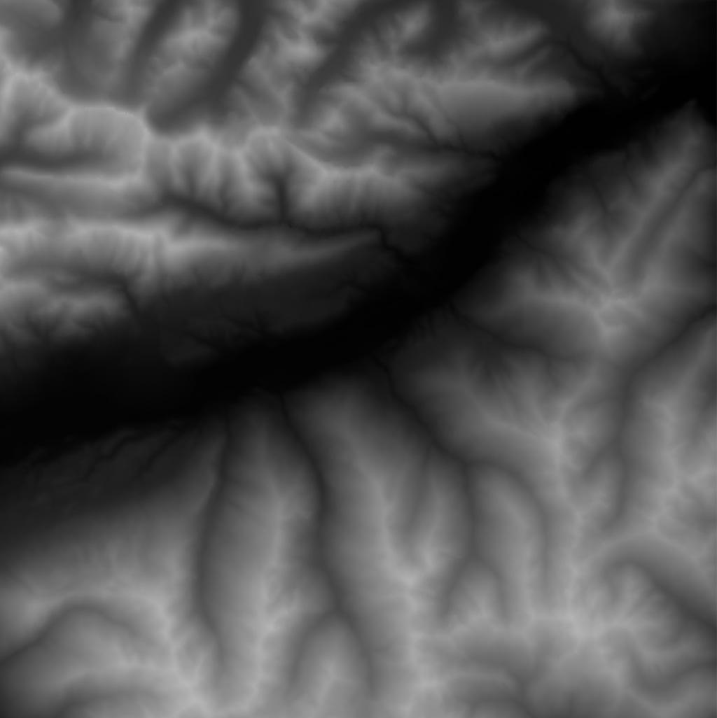 Real World HeightmapSatellite Images - Terrain heightmap