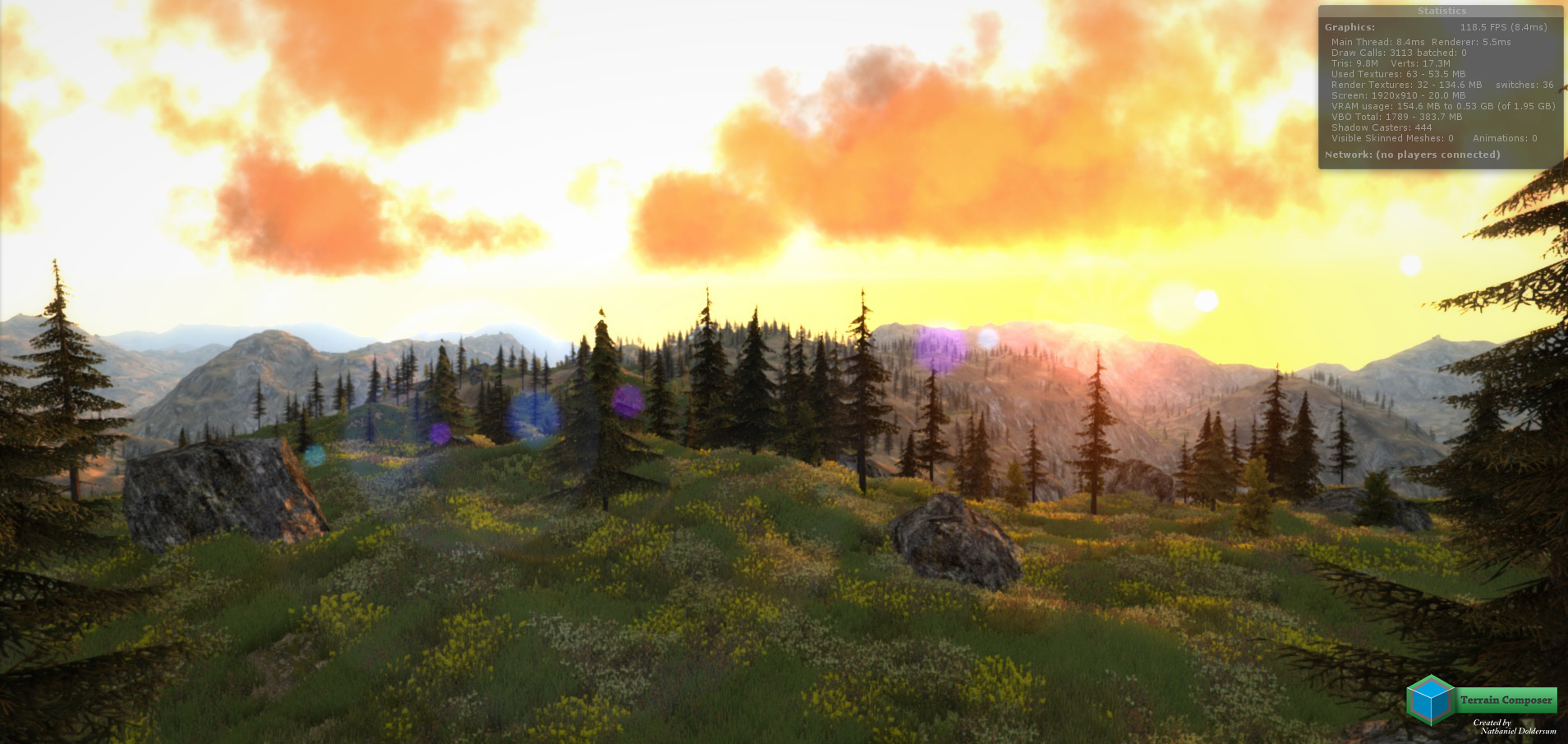 how to make realistic terrain in unity