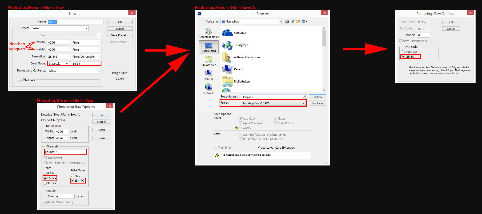 convert dng to jpeg in photoshop
